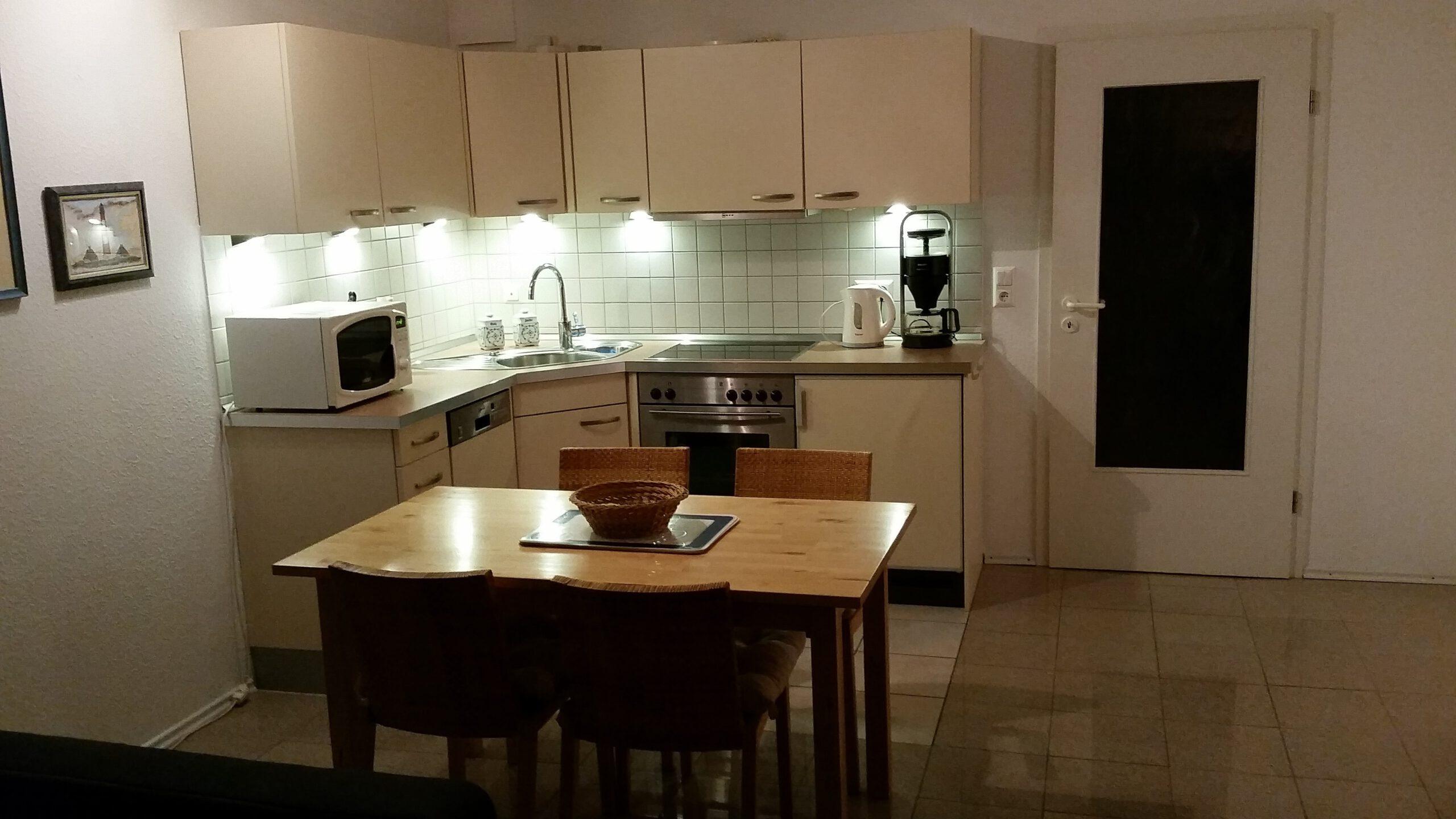 Ferienwohnung St Peter Ording mit Küche